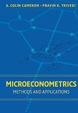 Microeconometrics : Methods and Applications by A. Colin Cameron and Trivedi