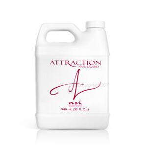 nsi Attraction Nail Acrylic Liquid 32oz / 946ml - No MMA