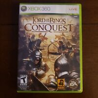 Lord Of The Rings Conquest Xbox 360 Game CIB Complete w/ Manual