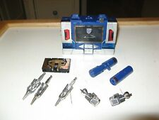 Transformers G1 Soundwave w Buzzsaw Complete All Weapons Lot # 2
