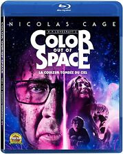Color Out Of Space (Blu-ray) 2019 Nicolas Cage, Joely Richardson NEW
