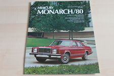112958) Mercury Monarch - USA - Prospekt 1980