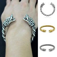 Men Dragon Viking Bracelet Stainless Steel Wristband Bracelets Fashion Jewelry