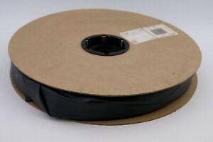100 FEET of 1 INCH MOLEX BLACK HEAT SHRINK TUBING - NEW - PART #PF-1-5BK