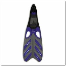 Équipements de plongée palmes bleus