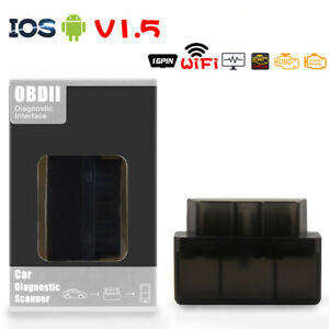 Mini OBD2 V2.1 WiFi Diagnostic Scanner for Multi-Brand CAN-BUS for Android IOS