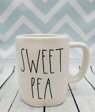 "Rae Dunn Glossy LL ""SWEET PEA"" Coffee / Tea Mug - New"