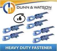 Heavy Duty Over Center Fastener x6 (Lock Latch handle) Trailer Tray Truck (K210)