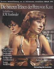 THE BITTER TEARS OF PETRA VON KANT Movie POSTER 27x40 German