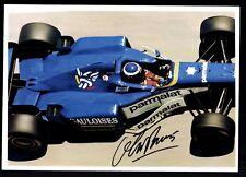 Olivier Panis Original Signiert Formel 1 +G 18434