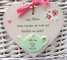 Nan/Nanny/Granny personalised heart birthday mothers day christmas gift keepsake