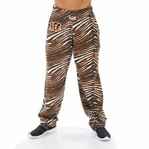 Zubaz NFL Men's Cincinnati Bengals Classic Zebra Print Team Pants