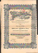 Crédit Foncier BELGO-SUISSE du MEXIQUE (B)