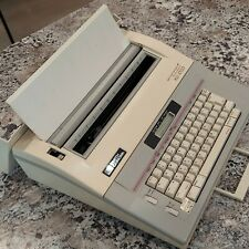 Smith Corona Xd 4700 Portable Electric Typewriter 5a 1 W Cover Tested Amp Works