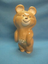 Moscow Olympic Games 1980. Olympic Bear Misha. Porcelain Ceramic Figurine