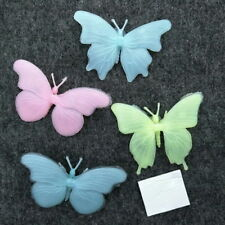 3D 4PC Butterfly Glow in the Dark Wall Stickers Green Light Home Decor Baby Room