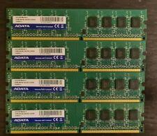 8 GB ( 4x 2GB) A-Data PC2-6400 4 GB DIMM 800 MHz DDR2 Memory RAM  (AD2U800B2G6)