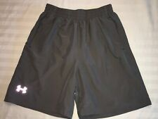 Mens UNDER ARMOUR HEATGEAR Athletic Lined Running SHORTS SIZE Small EUC