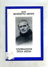 Beato Benedetto Menni # CELEBRAZIONE DELLA MESSA # Curia Arch. Mediolani 1985