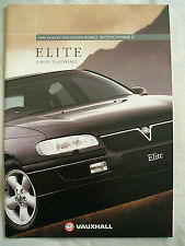 Vauxhall Elite range brochure 1996 Models Ed 2