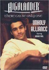 HIGHLANDER - UNHOLY ALLIANCE NEW DVD