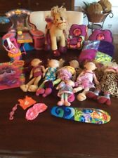 Huge Lot of Groovy Girl Dolls Vanity Horse Bed Surfboard Chair Accessories Lot 5