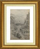 CHARLES WISLIN (1852-1932) SUPERBE VUE DE PAYSAGE A PERIGUEUX 1918 (1130)