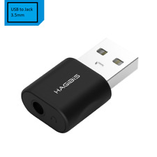 USB External Sound Card Converter USB to Jack 3.5mm Headphone Audio Adapter