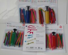 1 x kit Modellazione Palloncini Pump & 15 PALLONCINI le istruzioni per cane, Spada, Fiore