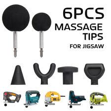Percussion Massage Attachment Tips 6 BEST SIZES HEAVY DUTY w/ Robs Worx jiigsaw