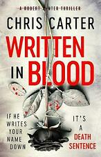 Written in Blood, Carter, Chris