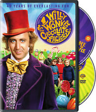 Willy Wonka & Chocolate Factory [40th Anniv (2011, DVD NIEUW) WS/40th Anniv. ED.