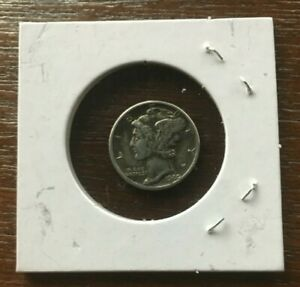 1940 D Mercury Dime XF! 90% Silver! Great Details! Excellent Color!