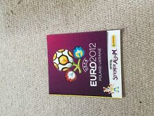 PANINI UEFA - EURO 2012 OFFICIAL STICKER ALBUM