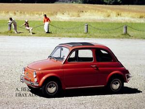 Fiat Nuova 500 1957 Cinquecento introduction new Model Year photo car photograph
