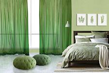 Rideau pur lin Fior di lino vert (col.7)