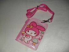New 2014 Sanrio MY MELODY PVC Card Holder with Strap