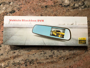 Vehicle Black Box DVR Full HD 1080 Brand New In Box