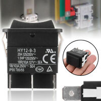 HY12-9-3 6 Pins Industrial Electric Rocker Switch 125V Push Button Switches