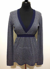 WOOLRICH Maglione Maglia Donna Lana Wool Woman Sweater T-Shirt Sz.S - 40