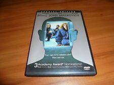 Being John Malkovich (Dvd,Widescreen 2000) John Cusack,Cameron Diaz Used