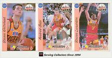 1992 Australia Basketball Cards NBL Factory Team Set Melbourne Tigers (12)-Rare