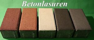 Farblasur Betonlasur Mineralisch für innen und außen - 1 kg