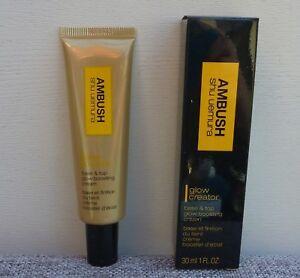 Shu Uemura AMBUSH Glow Creator Base & Top Glow Boosting Cream, #Warm Glow N, NEW