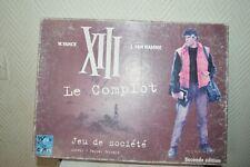JEU DE SOCIETE LA BD  XIII 13 LE COMPLOT WEEK END GAME TILSTIT VINTAGE 2002