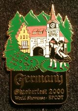 DISNEY WDW EPCOT 2000 GERMANY OKTOBERFEST WORLD SHOWCASE LE 2000 PIN