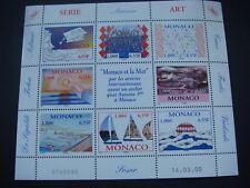 Monaco 2000 Monaco and the Sea Sheetlet  SG 2444/50 MNH  Cat £33.00