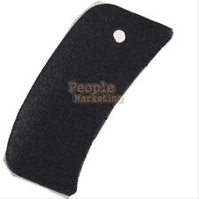 Black Back Rear Grip Rubber Cover for Nikon D80 DSLR Camera + Adhesive Tape Glue