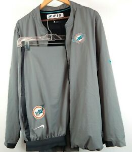 New Nike NFL OnField Apparel Miami Dolphins Sweat Suit Mens XL Jacket & Pants