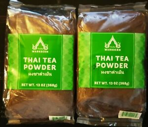 2 Bags Thai Tea Powder 13 oz x 2  US Seller Free Shipping